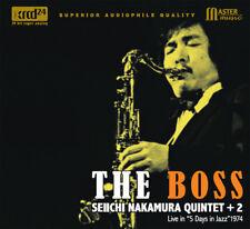 NT 014 | Seiichi Nakamura Quintet - The Boss CD XRCD