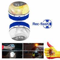 Help Rec Flash baliza Luminosa de Emergencia para coche evita accidentes arcén