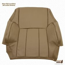 1996 1997 1998 1999 Toyota 4Runner Driver Top Lean Back Leather Seat Cover Tan