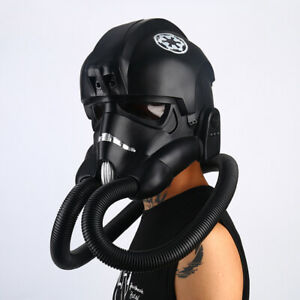 New Arrival Star Wars: Squadrons Cosplay Mask Tie Pilot Helmet PVC Mask Hallowee