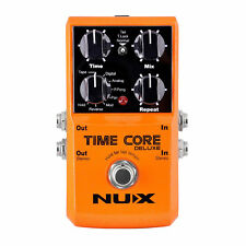 NEW NUX Guitar Delay Pedal Time Core Deluxe Digital