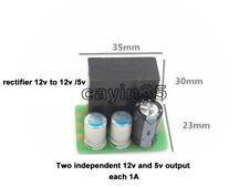 1 A Salida Dual 60V/55V/48 V/36V/24V a 12V/5V Step Down Módulo de Fuente de alimentación de Buck