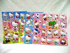 Hello Kitty 5 X A4 hojas de brillante hoja de pegatinas (414) Bolsas De Fiesta Media