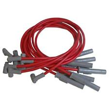 MSD Spark Plug Wire Set 32749; Super Conductor 8.5mm Red for Chrysler LA Mopar