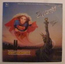 """Helen Slater Signed SUPERGIRL 12"""" VINYL LP Cover AFTAL"""