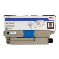 OKI 44469801 Black Toner Cartridge Type C17 for C330 C530 MC361 MC561 3.5K Yield