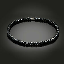 Magnetic Bead Hematite Stone Power Statement Choker Unisex Health Care Necklace