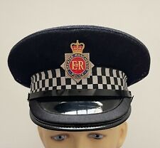 More details for an old gmp police chief / inspector cap (s57)