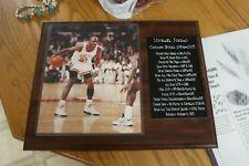 Michael Jordan Accomplishment Plaque 1984-1993