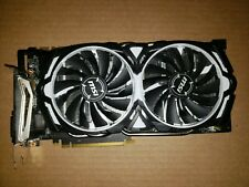 MSI nVidia GeForce GTX 1070 Armor 8GB OC GDDR5 Video Grapics Card