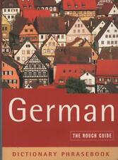 GERMAN PHRASE BOOK - THE ROUGH GUIDE PHRASEBOOK - AS BRAND NEW FAST FREE POST