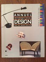 Annuel international du design : 1990-1991 - Mario Bellini - Chêne