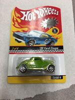 Hot Wheels Neo-Classics 2/6 '36 Ford Coupe  1/11000 Red Line Tires Neo Green