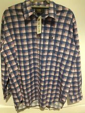 Lee Jeans Vintage Sanforized Plaid Check Cotton Shirt Deadstock BNWT Medium