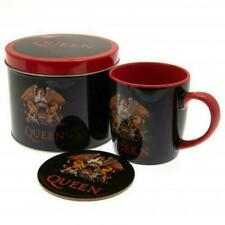 Queen Mug & Coaster Gift Tin Official Licensed Product
