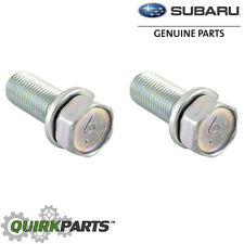 Subaru Disc Brake Caliper Bracket Mount Bolt SET 2 Impreza WRX STi OEM 901130011