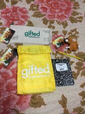Gifted Movie Gift Set Prize Pack Lunchbox, Composition Book, Keychain, Pen