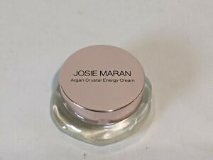 Josie Maran Argan Crystal Energy Cream Pure Argan Pure Argon 0.28 oz No Box