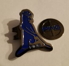 Brand New Gun Metal Black and Blue Ping Golf Ball marker with hat clip!!