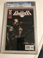 THE PUNISHER MAX #5 cgc 9.8 2004 Micro Appearance