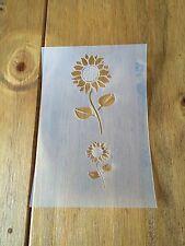 Sunflower Mylar Reusable Stencil Airbrush Painting Art Craft DIY Home Decor