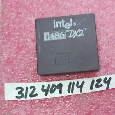 INTEL 80486DX2-50 80486 STEP CODE: SX805 (Intel 33 MHz)