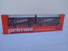 Märklin Primex 4596 ged Doppel Güterwagen Stückgut Schnellverkehr OVP ungeöffnet