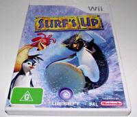 Surf's Up Nintendo Wii PAL *Complete* Wii U Compatible