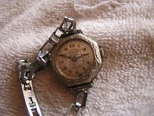 Antique Homis Women's Swiss Watch 15 Jewels 14K Gold Filled