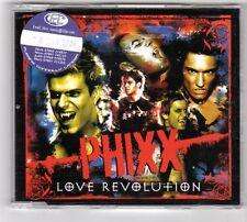 (GS872) Phixx, Love Revolution - 2004 DJ CD