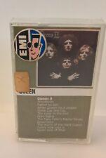 Queen II 1974 original audiocassette very rare