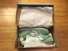 NEW BALANCE 996 UK 8 CONNOISSEUR GUITAR MINT SILVER M996CPS DEADSTOCK
