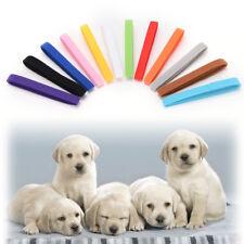 12Pcs Nylon Small Dog Adjustable Pet Identification Collars For Puppy Kitten Cat