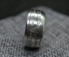Morgan Silver Dollar Coin Ring 8-17 (Crafted from a Real Coin)