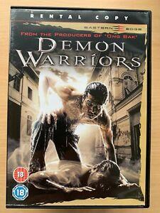 Demon Warrior DVD 2007 Thai Action Movie Rental Version