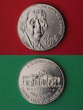 2011 P BU Thomas Jefferson Nickel From Mint Sets Flat Rate Shipping