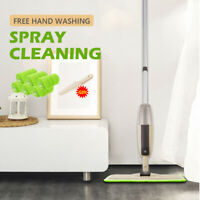Microfiber Cleaning Flat Mop 360 Degree Spray Floor Mop For Laminate Wood Tile