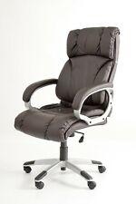 Poltrona sedia ufficio presidenziale SUPER LUSSO Conception marrone ELEGANTE