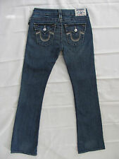 True Religion Boot Cut Jeans Flaps-Drifter- Bronze Embroidery-Size 26-NWT $279