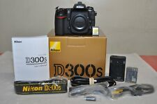 Nikon D300S 12.3MP Digital SLR  (Body Only) w/Box, Very Low Clicks__Excellent+++