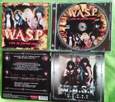 W.A.S.P. WASP - LIVE IN JAPAN 1986 CD + N.A.S.T.Y. 1987 DIGI CD. ELECTRIC CIRCUS