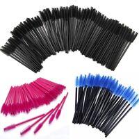 500X Disposable Eyelash Mini Brush Mascara Wands Applicator Spoolers Makeup US