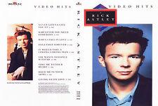 Rick Astley - Video Hits DVD Music Videos,80s,Funk,R&B,Dance,POP,Retro,RARE