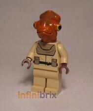 Lego Mon Calamari Officer from Set 7754 Home One Star Cruiser Star Wars sw248