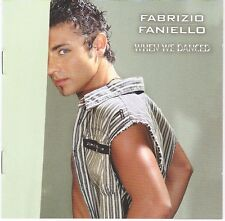 Fabrizio Faniello - CD Album WHEN WE DANCED - Eurovision