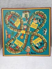 Vintage 1957 King Features The Adventures Of Popeye Game Board