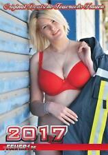 Original Feuerwehrfrauen Kalender 2017- mit echten Feuerwehrfrauen 17. Jahrgang