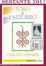 ITALIA MAXIMUM MAXI CARD 2003 L'ORO L'AZZURRO COLORI DEL SUD CèZANNE BONNARD A81