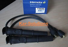 MG Rover VVC Pair HT High Tension Spark Plug Leads MGF MGTF F TF MGZR ZR 160 New