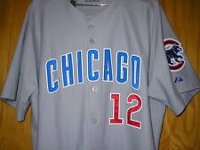 2006 DUSTY BAKER Chicago Cubs game worn used jersey